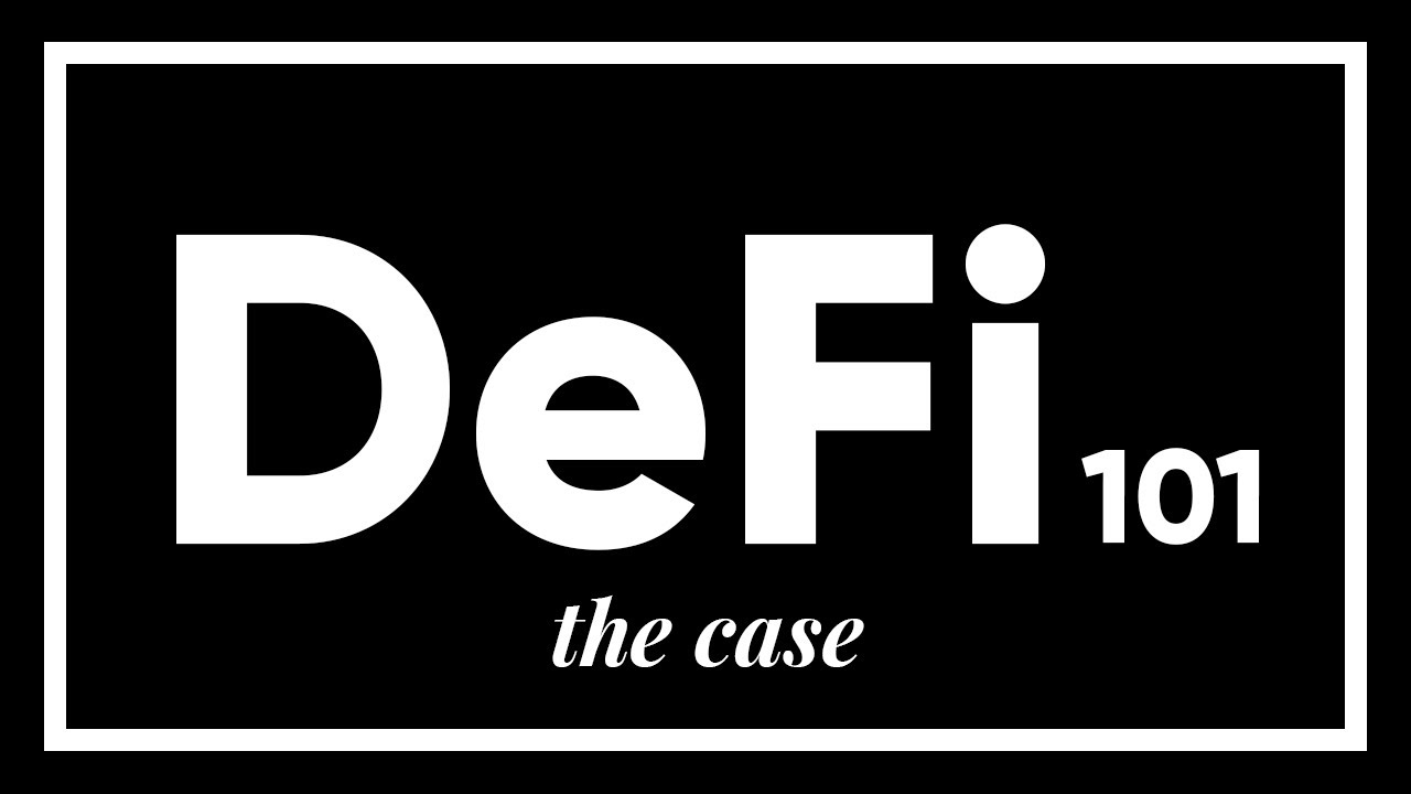 DeFi 101: The Case for Open Finance