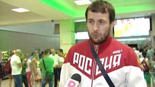 Интервью с с участником Олимпийских игр 2016 по дзюдо Ренатом Саидовым из Челябинска, встреча в аэро