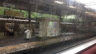 近鉄雷雨による誤報⁉️ 緊急地震速報で運転停止