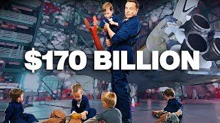 Inside The Lives of Elon Musk's Billionaire Rich Kids