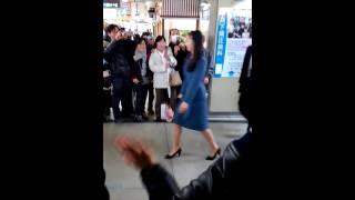 橿原神宮前駅にて佳子さまを撮影 佳子内親王 検索動画 13
