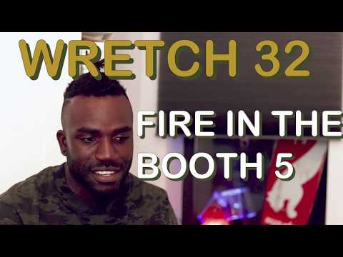 BEST WORDSMITH EVER   Wretch 32 - Fire in the Booth (Part 5)  BREAKDOWN REACTION 