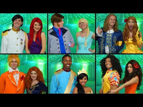 WHO WILL BE PROM KING AND QUEEN? DISNEY PRINCESS PROM (Totally TV Dress Up Characters)