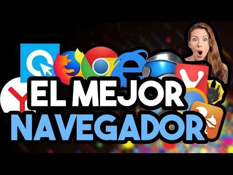 ¿CUÁL ES EL MEJOR NAVEGADOR DEL MUNDO? Windows 7, 8 Y 10 | TEST EN ESPAÑOL