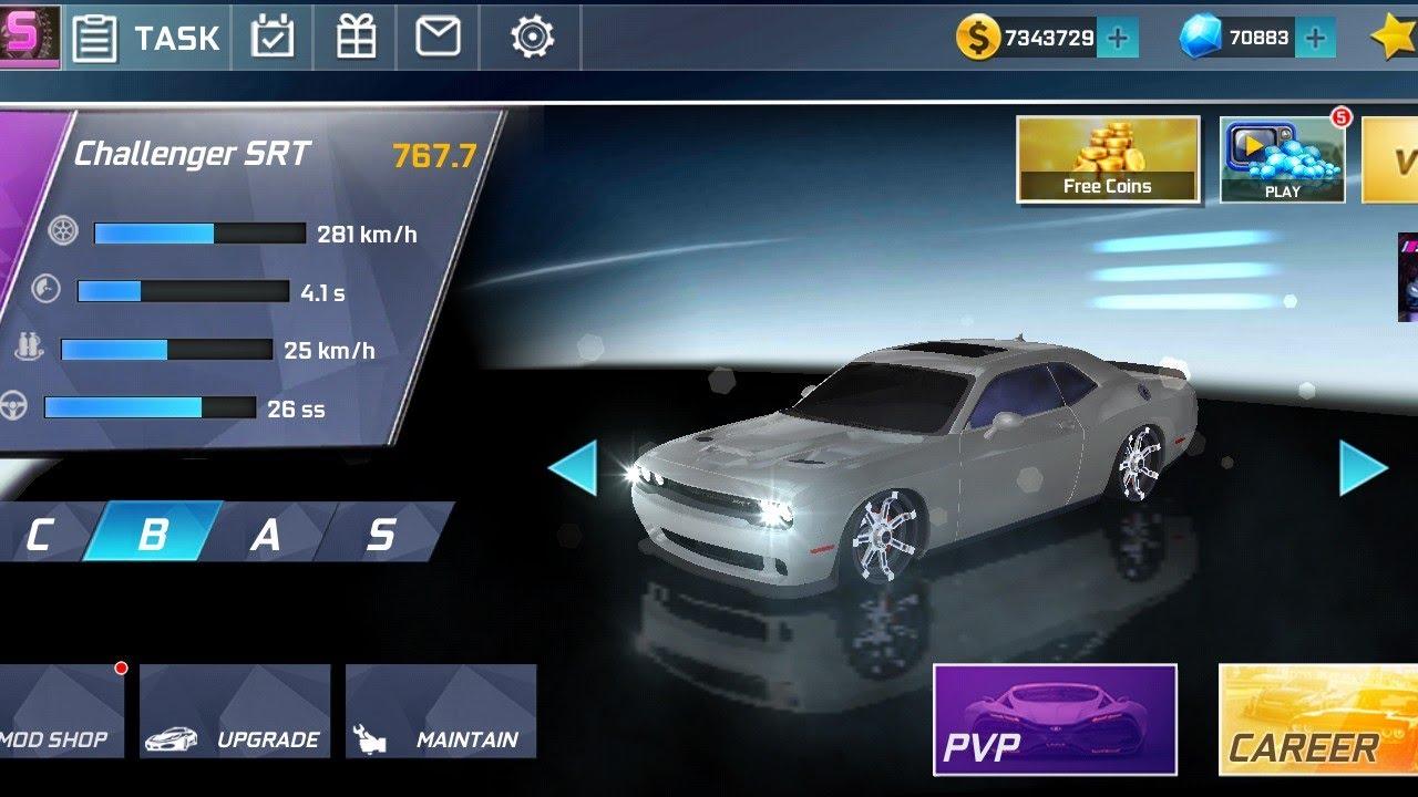 Download Street Racing 3D- use challenger SRT for race