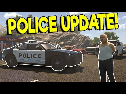 NEW POLICE CHASES & FOOT PURSUIT UPDATE! - Flashing Lights Gameplay - Police & Fire Simulator