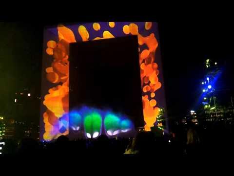 Feu d'artifice La Défense 20 séptembre 2013