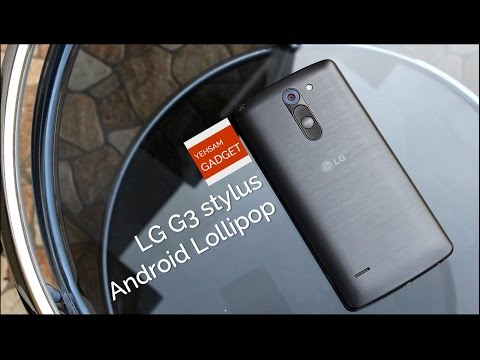 LG G3 stylus: Android Lollipop