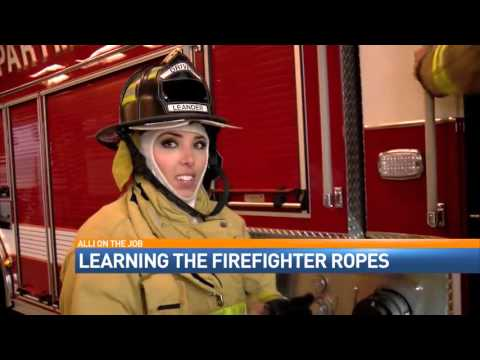 Alli on the Job - Firefighter with the Leander Fire Department
