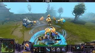 Dota 2 - Tinker Travel Boots effect from Immortal mecha boots