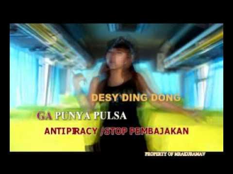 GA PUNYA PULSA (Desy Ding Dong) cuplikan clip BEHIND THE SCENE