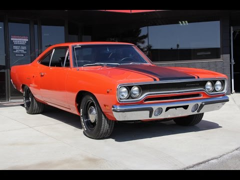 1970 Plymouth Roadrunner Numbers Matching Muscle Car For
