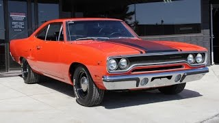 1970 Plymouth Roadrunner Numbers Matching Muscle Car for Sale