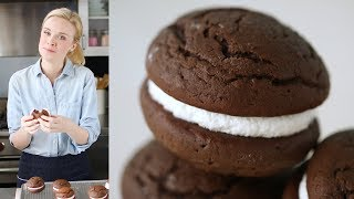 Chocolate Whoopie Pies- Sweet Talk with Lindsay Strand