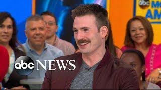 Chris Evans opens up about