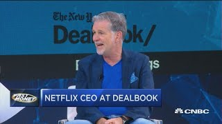 Here's what Netflix CEO Reed Hasting had to say at The New York Times' Dealbook conference