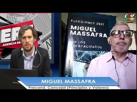 MIGUEL MASSAFRA - Precandidato a Concejal (Principios y Valores) - RICO AL CUADRADO 2021