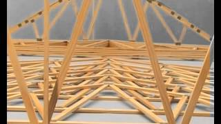 Erecting Timber Roof Trusses