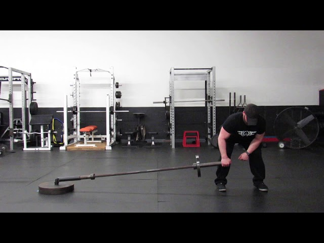 1 ARM LANDMINE WIDE GRIP ROW