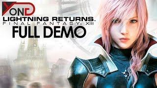 Lightning Returns: Final Fantasy XIII - FULL DEMO - YongPlay