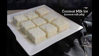 Quick Coconut milk pudding / Thengapaal pudding / തേങ്ങാപ്പാൽ പുഡ്ഡിംഗ്