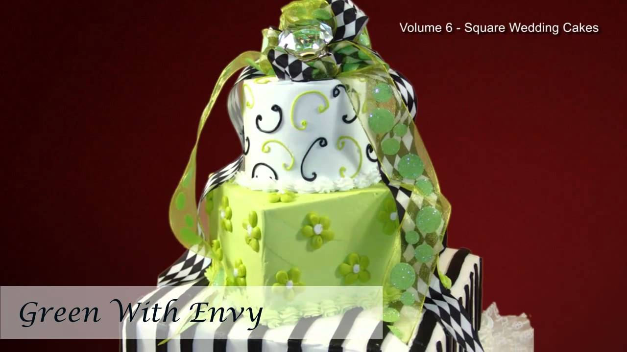 Square wedding cakes wedding cake pictures wedding cake square wedding cakes wedding cake pictures wedding cake designs volume 6 youtube junglespirit Gallery