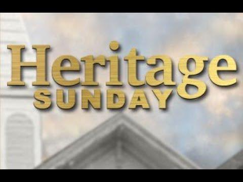 Heritage Sunday 2020