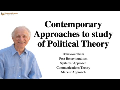 Political Science Optional for UPSC - Political Theory - A.1 - Part 2