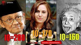Gak Nyangka ! Es stellt sich heraus, dass der IQ BJ Habibie Niederlage Albert Einstein, 8 Mann von den Meisten Genie in der Welt