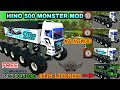 Hino 500 Monster Truck Mod For Bus Simulator Indonesia 🔥