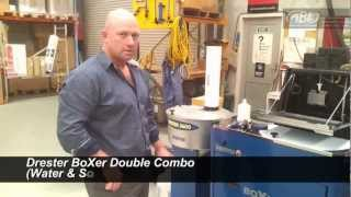 Auto Body Equipment Drester Boxer Double Combo (water & Solvent)