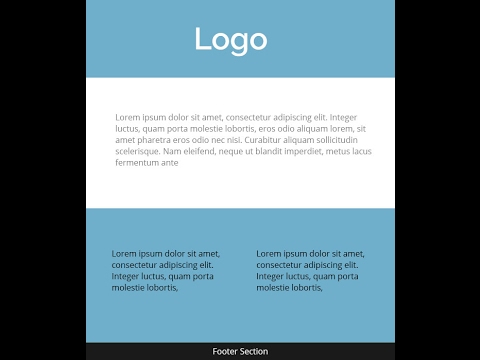 Easy Format For Creating Responsive Email Template Html Coding  Youtube