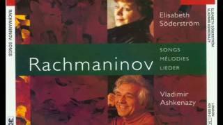 Rachmaninov Lieder Six songs Op 8 (4-5-6)