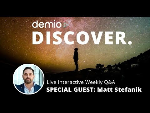 The Software Startup Journey with Matt Stefanik, The Life Style Architect - Demio Discover