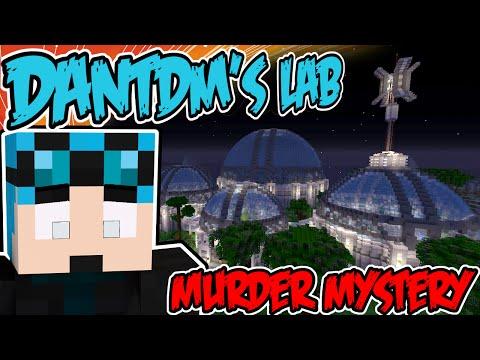 DanTDM's Lab - - BLINDED !! - Minecraft Xbox Murder Mystery