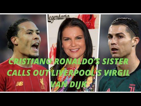 'My dear Virgil, win titles then we'll talk'   Ronaldo's sister blasts Van Dijk over Ballon d'Or jok