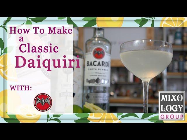 How to make a Daiquiri