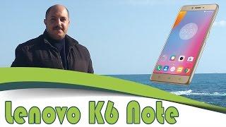 مميزات وعيوب Lenovo K6 Note