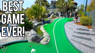 Our Best Mini Golf Game Ever! - So Many Hole In Ones!