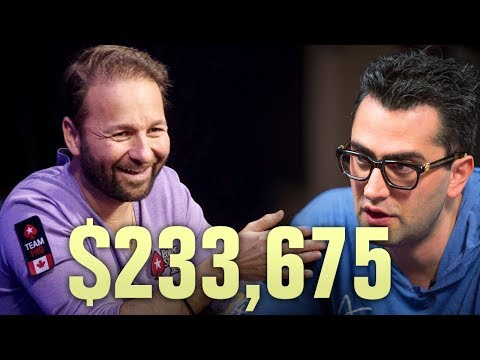 Daniel Negreanu DESTROYS Esfandiari - Three Huge Poker Hands