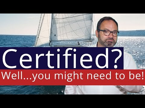 Do I need certification if I charter bareboat?