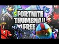 How To Make Epic Fortnite Gaming Thumbnails like Me