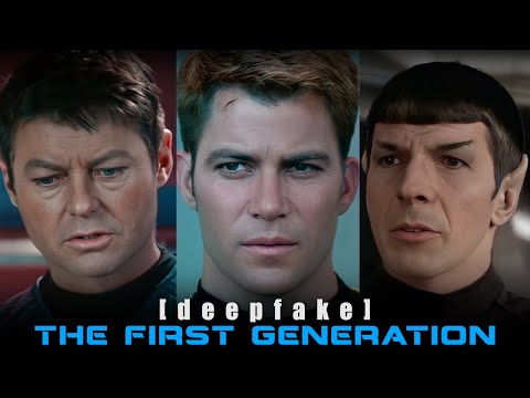 Star Trek: The First Generation [deepfake]