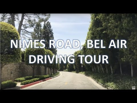 Christophe Choo Tour Of Nimes Road & Bel Air Road In The Lower Bel Air Area Of Los Angeles 90077