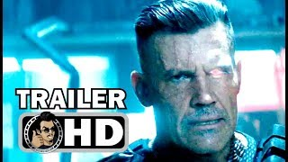 DEADPOOL 2 Official Trailer #4 - Meet Cable (2018) Ryan Reynolds Marvel Movie HD