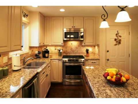 Small Open Floor Plan Kitchen Living Room ideas - YouTube on