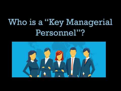 Who is a Key Managerial Personnel 2(51) - Company Law, Ekcel Academy