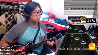 words cannot explain how stressful this was (Joe Satriani Solo Medley 100% FC)
