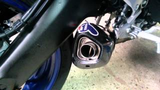 Mt-09 termignoni db-killer sound