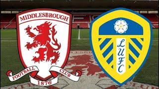 Middlesbrough Vs Leeds United | 1-1 | MAD SCENES!!!